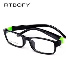 c77ab0dbc4 Kids Optical Eyeglasses Size 45mm No Screw Bendable Children Glasses Frame  Teens Glasses TR90   Silicone Safe Flexible Frame