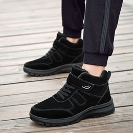 $enCountryForm.capitalKeyWord NZ - Winter Boots Men 2018 Warm Snow Boots Men's Winter Working Shoes Men's Shoes Fashionable Rubber For The Ankle