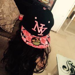 1ac1bb3cf8d Wholesale- Free shipping 2017 NY Kids Snapback Cartoon Embroidery Children  Cotton Baseball Cap Baby Boys Girl Snapback Caps Hip Hop Hats