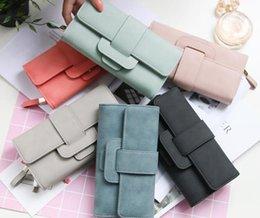 Nueva cartera, moda femenina, setenta por ciento de descuento, cierre multifuncional, billetera con bolso de mano. en venta