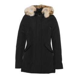 Warmest Goose Down Parka Australia - Fashion Woolrich Women Arctic Anorak Down jacket Woman Winter goose down Outdoor Thick Parkas Coat Womens warm outwear jackets