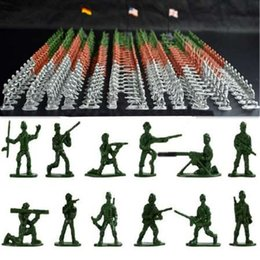 $enCountryForm.capitalKeyWord Canada - 100pcs set Military Plastic Toy Soldiers Army Men Figures 12 Poses Gift Toy Model Action Figure Toys For Children Boys soldiers