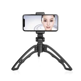 Venta al por mayor de Nueva cámara de video portátil universal Smart Phone Trípode Holder Selfie Stabilizer Portable Holder