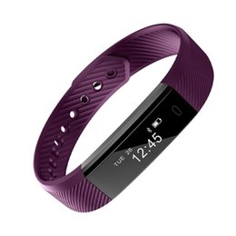 Smart Watch Iphone Android Australia - Smart Bracelet ID115 Armband Fitness Tracker Stappenteller For Iphone Android Sleep Monitor USB Charging Watch Health Tracker