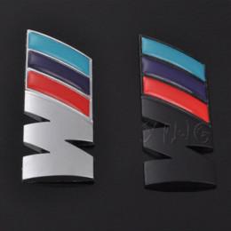 Venta al por mayor de BMW Car Logo Sticker Auto Emblem Badge Decal para BMW M M3 M5 E46 E30 E34 X1 X3 X5 X6 Rendimiento de potencia