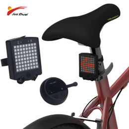 $enCountryForm.capitalKeyWord Australia - Turn Signal Bicycle Taillight Wireless ABS Remote Control Laser Light for Bike Safety Warning USB Charging Rear Light Tail
