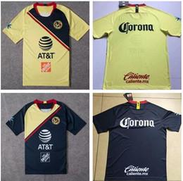 AmericA jerseys sAle online shopping - 2019 Club de Futbol America home Soccer Jersey Club de Futbol America away Soccer Shirt Customized Mexico club football uniform Sales