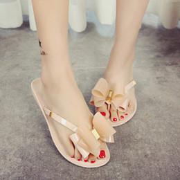 2c096debd Butterfly slippers women online shopping - Open Toe Solid Casual Women Flat Flip  Flops Summer Butterfly