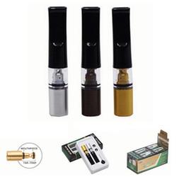 Ingrosso 2pcs / set Rotondo Bocca Piatta Fumo Filtri Suggerimenti Per Carta a Rotoli Herb Secchi Con Cipresso Phuncky Vetro Fumo Filtro punte lavabili