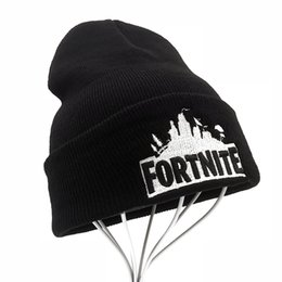 Sport Winter fortnite game hat Men cap Beanie Knitted Hip Hop Winter Hats  For Women Fashion Warm Skullies Bonnet Gorro c399975ab3d9