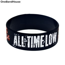 Show braceletS online shopping - 1PC All Time Low Rock Band Silicone Bracelet Show Your Support For Them By Wearing This Wristband