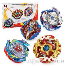 $enCountryForm.capitalKeyWord Australia - 2018 wholesale Free Shipping New 4pcs set Beyblade Arena Spinning Top Metal Fight Beyblad Beyblade Metal Fusion Children Gifts Classic Toys