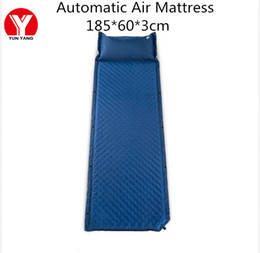 $enCountryForm.capitalKeyWord NZ - Automatic Inflatable Camping Mat Waretproof Outdoor Travel Inflatable Air Mattress Portable Hiking Bed with Pillow