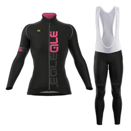 2018 Spring Autumn Women s Long Sleeve Cycling Jerseys Sets Breathable Bicycle  Cycling Clothing Ropa mailot Ciclismo Mujer 22cbe3507