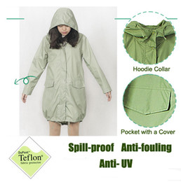 2018 clothes japan Japan Fashion Womens Thin Portable Tour Trench Raincoats burbe rry_ Girls Waterproof Clothes Ballon Style Outdoor Rain J