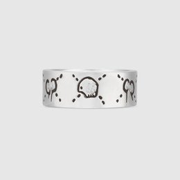 За пределами одного большой новый горячий корейский корейский моды S925 стерлингового серебра кольцо женский ретро кольцо тайский серебряное кольцо