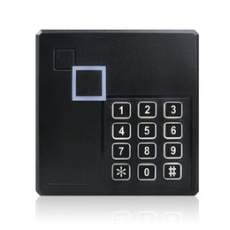 access card reader system UK - Weatherproof Wiegand 26 26bit Access Control Keypad RFID Reader System Safety