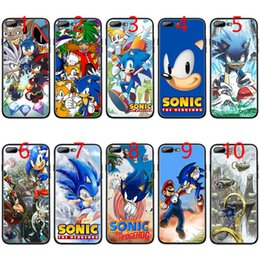 $enCountryForm.capitalKeyWord Australia - Sonic the Hedgehog Series Soft Black TPU Phone Case for iPhone XS Max XR 6 6s 7 8 Plus 5 5s SE Cover