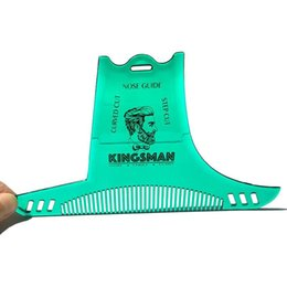 $enCountryForm.capitalKeyWord UK - Custom Logo Beard Shaper for Perfect Lines Hair Trimmer for Men Trim Template Hair Cut Gentleman Modelling Comb beard templates