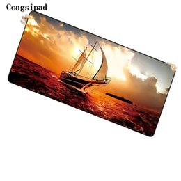 Keyboard Player UK - Congsipad Shop Ship At Sea 900*400*2mm Free Shipping Large Mouse Pad Keyboards Mat for League of Legends CS Go for Game Player