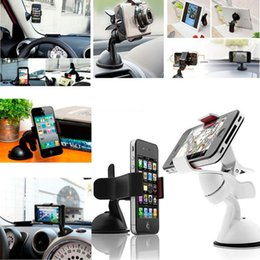 galaxy s3 car holder UK - Universal mobile phone holder stand car windshield mount holder For iPhone note xiaomi 4s 5 5s 6 6s galaxy S3 4 5 6 7 Note 3 4