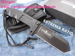$enCountryForm.capitalKeyWord Australia - Special Extrema Ratio RAO185 Black Tactical Folding Knife 440C 57HRC Outdoor Camping Hunting Survival Pocket Utility Huge EDC Tool Xmas Gift