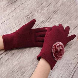 Apparel Accessories Latest Collection Of Women Pu Gloves Solid Fashion Autumn Winter Gloves Soft Mittens Warm Pu Leather Delicate Balls Touch Screen Gloves San0 Wide Selection;