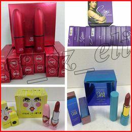 Selena Lipstick Canada - New Makeup Selena Amor Prohibido matte lipstick Cosmetics 12 colors dos of colors ROSSY DE PALMA lipstick Steve J & Yoni P Lipstick
