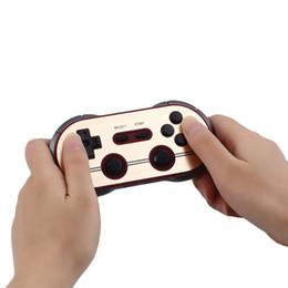Discount gamepad controller ios - 8Bitdo FC30 Pro Wireless Bluetooth Gamepads Game Controller Retro Design Dual Joystick for iOS Android Gamepad PC Mac Li