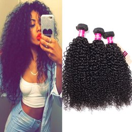 Brazilian grade 8a hair Bundles online shopping - 8A Grade Brazilian Virgin Hair Bundles Straight Body Wave Loose Wave Kinky Curly Deep Wave Unprocessed Virgin Human Hair Extensions
