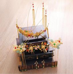 $enCountryForm.capitalKeyWord NZ - Bridal headwear, costume, crown sets, Chinese wedding accessories, tassels, wedding shows, clothes, dragon, Phoenix and gown accessories.