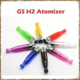 $enCountryForm.capitalKeyWord NZ - GS-H2 Vaporizer Atomizer Clearomizer Coils replaceable E Cigarettes Vaporizer for ego-t EVOD X6 EGO Twist Battery Vape Cartridges
