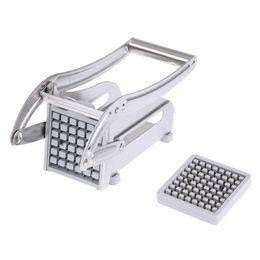$enCountryForm.capitalKeyWord Australia - Metal Steel Potato Cutter French Fry Potato Vegetable Cutter Maker Slicer Chopper Kitchen Accessories Kitchen Tools Gadgets