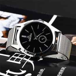 Brand Luxury Style Watch Australia - New Style Quartz Watch Business Fashion Vico Men's Women's Stainless Steel Band Wrist Watches mens watches top brand luxury Dec