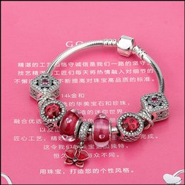 $enCountryForm.capitalKeyWord Australia - 2017 Hot Silver Love Snake Chain Fit Original 925 Sterling Silver Bracelet Bangle DIY Charm Beads Jewelry Gift For Women