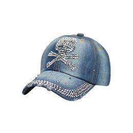 a20e1042e95a8 XYKGR New ladies rhinestones cowboy hat outdoor sports baseball cap fashion  high quality hat personality pattern baseball cap