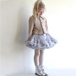 Red White Blue Tutus Australia - Baby Girls Tutu Skirt Fluffy Children Ballet Kids Pettiskirt Baby Girl Skirts Princess Tulle Party Dance Skirts For Girls Cheap