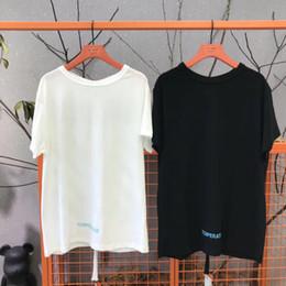 $enCountryForm.capitalKeyWord Canada - Brand design SS18 Summer Street wear Europe Black White Made Fashion Men High Quality Broken Hole Cotton Tshirt Casual Women Tee T-shirt