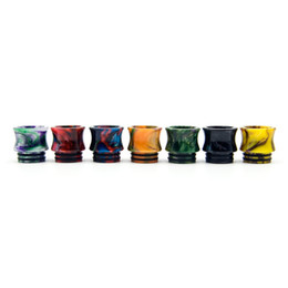 drip tip goon UK - 810 Drip Tip Resin Vase Colorful Wide Bore Mouthpiece Fit Goon 528 Kennedy 24 AV Battle Apocalypse Pyro Mesh TFV8 X-Baby TFV12 Prince Tank