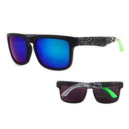 Chinese  Retro KEN BLOCK Driving Sunglasses Men Spied Brand Designer Coating Mirror Sun Glasses Male Outdoor Sport Fishing Goggles uv400 manufacturers