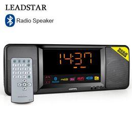 Discount bass packs - LEADSTAR FM Radio Bluetooth Speaker Handfree Deep Bass Wireless Speaker with LED Display Remote control Mic Suppoert TF
