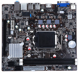 Vga Intel Australia - NEW H61 LGA1155 DDR3 Micro ATX HDMI VGA Motherboard for i3 i5 i7 CPU Socket H2
