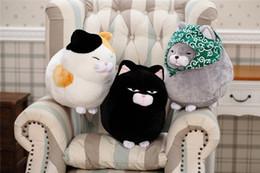 Girlfriends Gift Cat Australia - 20170615 Cute Kitty Doll Simulation Cat Stuffed Animals Plush Toys Soft Pillow Birthday Gifts For Kids Girlfriend Hot Sales Free Shipping