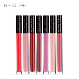 $enCountryForm.capitalKeyWord NZ - FOCALLURE 14 Colors Waterproof Matte Liquid Lipstick Long Lasting Brown Red Chocoloate Lip Gloss Cosmetic Beauty Makeup