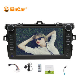 Gps maps for car dvd online shopping - Android Car Stereo For TOYOTA Corolla In dash CAR DVD Player GPS Navigation iPod Bluetooth Rear Camera Radio FM Map