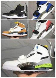 J shoes online shopping - Mens Don C x J Legacy Elephant Print OG Good Quality Men Rookie of the Year casual shoes