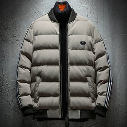 Ruffled Down Parkas Canada - High Quality Winter Jacket Men Hooded Thick Warm Duck Down Parka Coat Casual Slim Down Mens Overcoat Many Pockets Plus Size 7XL