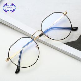 $enCountryForm.capitalKeyWord Australia - VCKA Computer Glasses 2017 Eyewear Frame Anti Blue Light Game Glass metal frame Anti Glare Eyeglasses Women Men