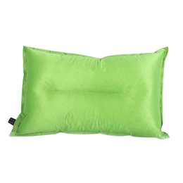 $enCountryForm.capitalKeyWord Australia - Outdoor camping automatic inflatable Soft pillow Travel Flatable portable lunch break sleeping PVC Pillow with OPP packing
