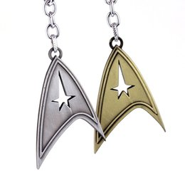 Chinese  Movie Garage Kit Key Buckle Star Trek Metal Ornaments Pendant Man Fashion Key Chain Toy Hot Sale 4ys WW manufacturers